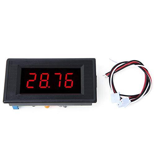 Voltímetro digital 5135A DC5V, Mootea voltímetro de CC de alta precisión 3 1/2 medidor de panel digital...
