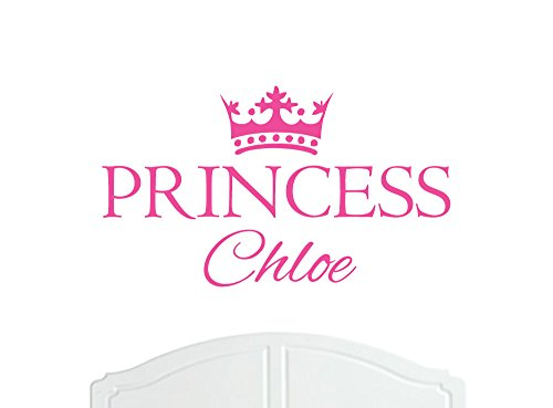 crown-princess-chloe-large-wall-sticker-vinyl-decal-bed-room-nursery-art-girl-baby-choice-of-size-an