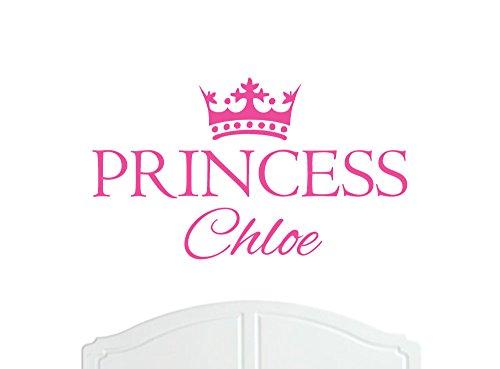crown-princess-chloe-regular-wall-sticker-vinyl-decal-bed-room-nursery-art-girl-baby-choice-of-size-