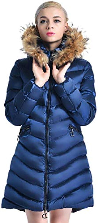 Piumini Donna Lunga Invernali Prodotto Plus Piumino Incappucciato Manica Lunga  Caldo Caldo Lunga Addensare Moda Giovane 379b364e570