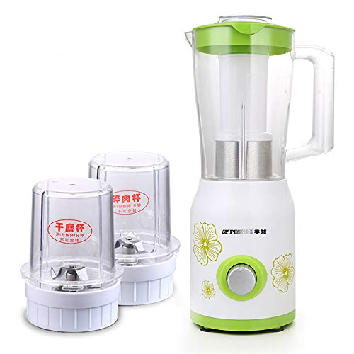 YUHUANG Mini tragbarer Mixer, maximale Kapazität 1500ml Home Smoothie Entsafter,B (1500 Entsafter)