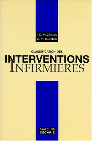 Classification des interventions infirmières