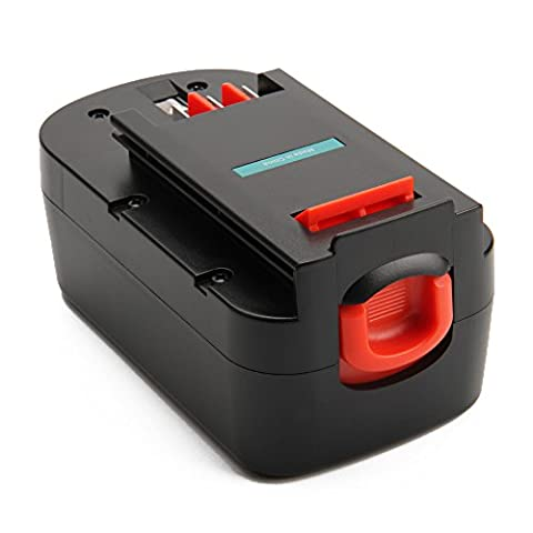 Creabest 18V 3.0Ah Ni-MH Batterie de Remplacement pour Black and Decker A1718 A18NH HPB18 HPB18-OPE A18 Firestorm A18 FS180BX FS18BX FS18FL FSB18 244760-00