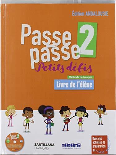 PASSE PASSE - PETITS DEFIS 2 ELEVE+CD ANDA