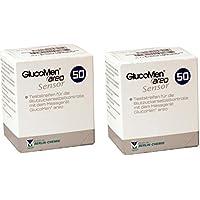 Tiras reactivas de glucosa para la diabetes Glucomen AREO (100 unidades)