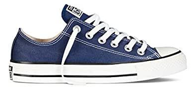CONVERSE Chuck Taylor All Star Seasonal Ox, Unisex-Erwachsene Sneakers, Blau (Navy), 3 EU