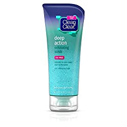 Clean & Clear Deep Action Exfoliating Facial Scrub