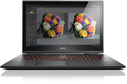 Lenovo Y70 (Lenovo Y70-70 Touch 43,9 cm (17,3 Zoll FHD IPS Anti-Glare) Notebook (Intel Core i7-4720HQ, 3,6GHz, 16GB RAM, 512GB SSD, NVIDIA GeForce 960M, Touchscreen, Win8.1) schwarz)