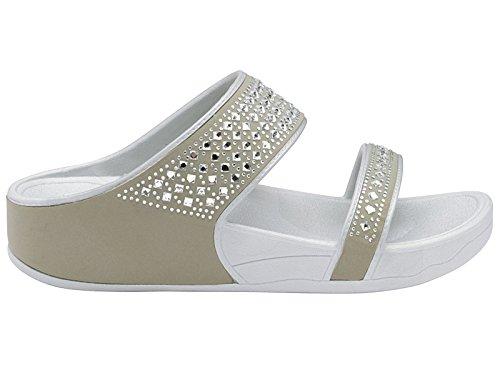 Foster Footwear ,  Damen Pantoletten Grau