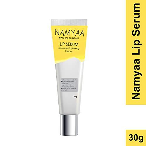 Namyaa Natural Lip Serum For Lip Lightening/Brightening/Toning/Moisturizing, 30 g