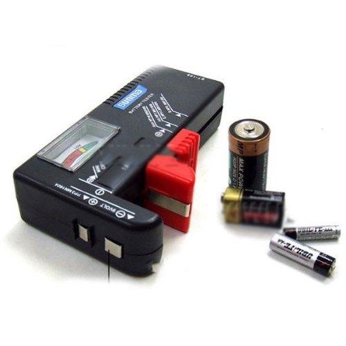 Preisvergleich Produktbild 11 x 6 x 2,5 cm AA/AAA/C/D/9 V Knopfzelle V tragbare Tester 35DI