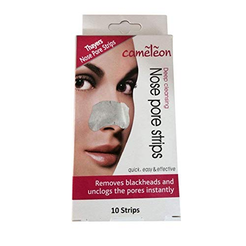 Cameleon Nose Pore and Blackhead Removel Strips, 10 Strips