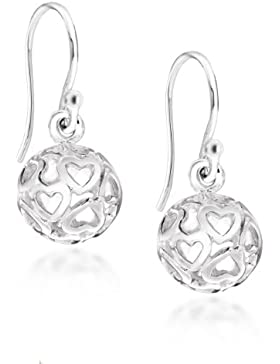 Tuscany Silver Damen-Ohrringe 925 Sterling Silver