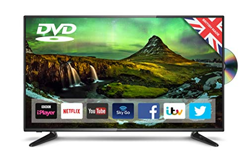 Cello C43Sfsd 43�� Superfast Smart LED TV with Built-In Dvd Player