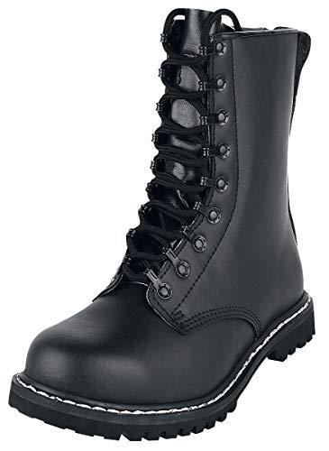 Brandit Springerstiefel para Boots, Schwarz, 43 EU