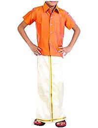 VINAB Shirt and Dhoti for Kids Velcro hip closure(1 set)
