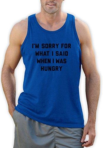 Sorry für was ich sagte als ich hungrig war Tank Top Hellblau