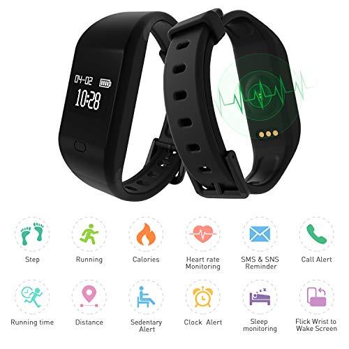 Zoom IMG-1 fitpolo bracciale fitness orologio activity