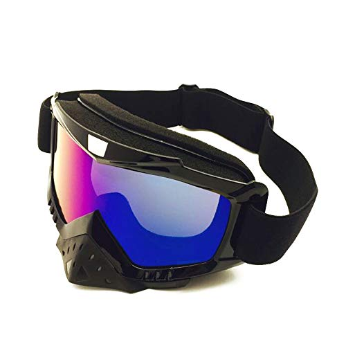 Snowboard Ski Goggles Snowboard Goggles Anti-Fog 100% UV Protection Helmet Compatible Snow Goggles Goggle (Color : 1, Size : One Size) Img 1 Zoom