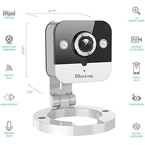 Vimtag® [Mini HD WiFi] Camera Mini Cube Dispositivi di sicurezza