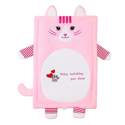 Dytiying Personalisierte Niedliches Tierdesign Pet Bett Kissen Schlaf Matte Nap Pad für Hunde Katzen Waschbar Abnehmbarer Bezug (Pet Nap Katzen)