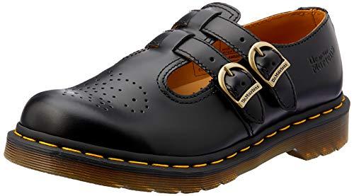 Dr Martens Women's 8065 Mary Jane Buckle Leather Shoe Black-black-3