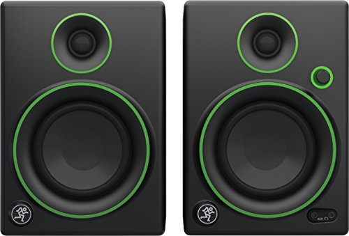 Mackie CR4 Monitor Multimediali con Woofer da 4', Nero (Coppia)