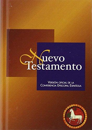 Nuevo Testamento (Ed. títpica - cartoné): Versión oficial de la Conferencia Episcopal Española (EDICIONES BÍBLICAS) por Conferencia Episcopal Española