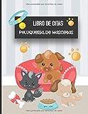 Libro de Citas Peluqueria de Mascotas: Libreta para Apuntar y Agendar Citas para Peluquera o Veterinaria, Spas de Perros, Cuidado de Mascotas, con ... 52 semanas Tapa Perritos Gatos  8.5 x 11 in