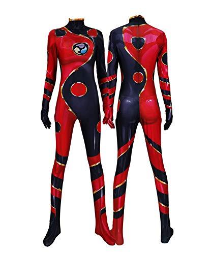 SHANGN Halloween Spandex Anzieh Body | Kinder Adult MovieSuperheld Cosplay Kostüm Spicy Girl Kim Mögliche Rollenspiele,Lady-XXL