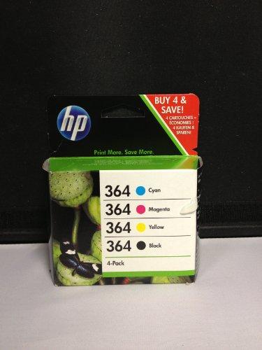 Preisvergleich Produktbild 4 Original Druckerpatronen für HP Photosmart B110 (Black/Cyan/Yellow/Magenta) Tintenpatronen