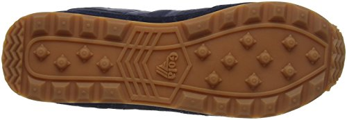 Gola Flyer Navy/Gum, Sneaker Uomo Blu (Navy/gum De)
