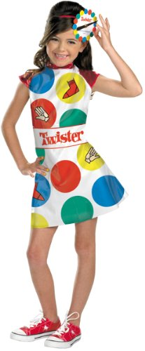 Girl's Costume: Twister Game- Large