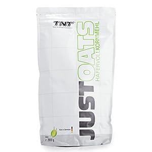 Just Oats Hafervollkornmehl – Instant Hafer-Mehl – Reich an Protein, Kohlenhydrate & Ballaststoffe