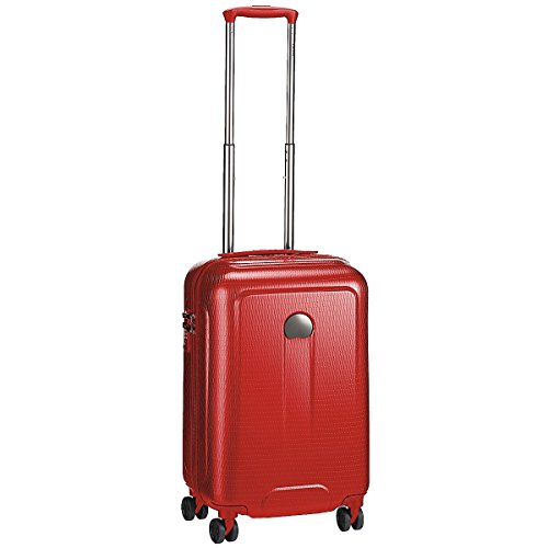Delsey Helium Air 2 Bagage Cabine, 55 cm, 48 L, Rouge
