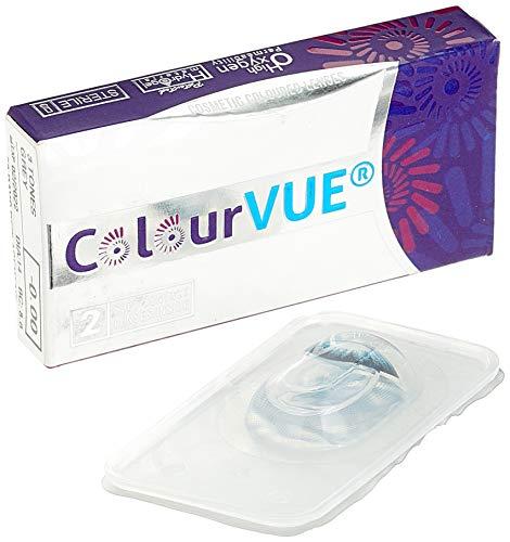 ColourVUE 3 Tones Blue Monatslinsen weich, 1 Stück / BC 8.6 mm / DIA 14.0 / 0 Dioptrien