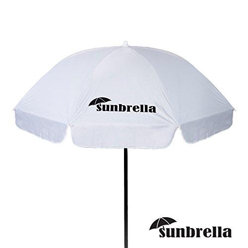 Sunbrella – Hochwertiger Sonnenschirm Strandschirm Gartenschirm 170 cm UV30+