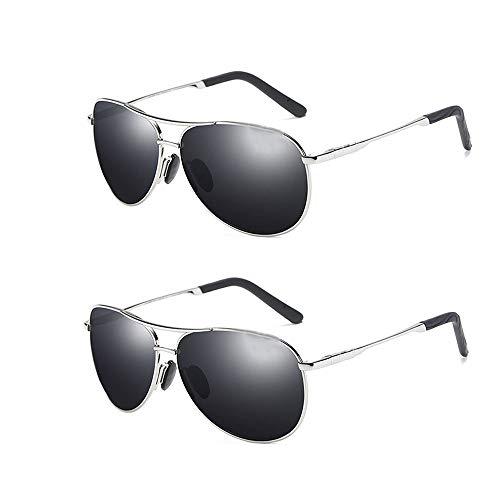 Polarisierte Sonnenbrille ultraleichter schwarzer neuer Trend UV-Schutz