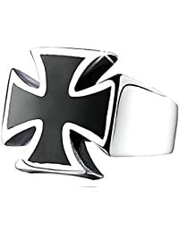 Inception Pro Infinite Mlt - Anillo con Cruz de Malta - Templarios - Idea de Regalo