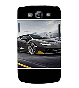 For Samsung Galaxy S3 i9300 :: Samsung I9305 Galaxy S III :: Samsung Galaxy S III LTE nice car, super car, beautiful car, fantastic car, car Designer Printed High Quality Smooth Matte Protective Mobile Pouch Back Case Cover by BUZZWORLD