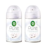 Air Wick Air Freshener Freshmatic Refill Pure Soft Cotton, 250ml Twin Pack