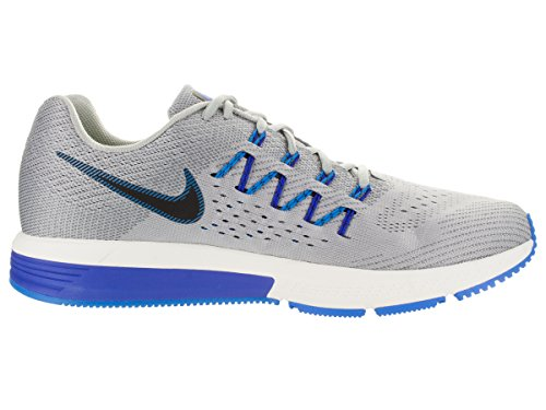 Nike–Air Zoom Vomero 10, Chaussures de running pour homme Gris / Azul / Negro (Wolf Grey / Black-Drk Gry-Pht Bl)