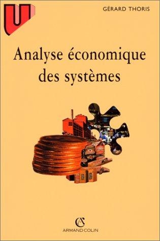 Analyse économique des systèmes