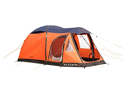 4-Man-Inflatable-Orange-Leisure-Air-Tent-with-Qwik-Frame-inflates-in-5-minute