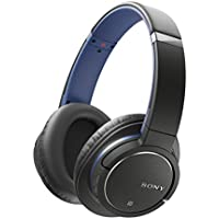 Sony MDR-ZX770BN Wireless and Noise Cancelling Headphones - Black and Blue