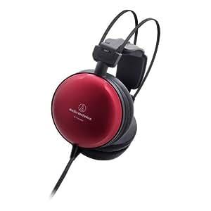 Audio-Technica ATH-A1000Z Casque dynamique fermé audiophile haute résolution (Hi-Res Audio), Rouge Métallique