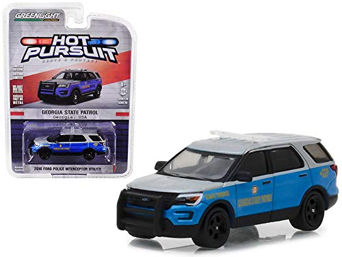 Greenlight 2016 Ford Explorer Georgia State Police 1:64 (Ford Police 1 64)