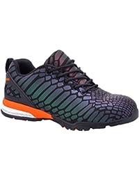 Paredes sp5038ne-re38Camaleon–Zapatos de seguridad S3talla 38NEGRO