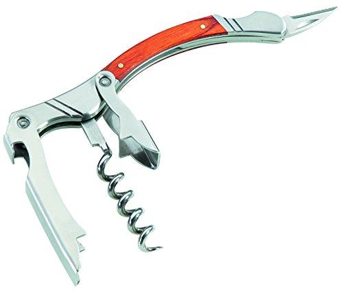 Couteau de sommelier Herbertz - Couteau à manche en bois - Gris - M
