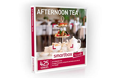 Buyagift Afternoon Tea Gift Experiences Box - 425 traditional afternoon tea experience days